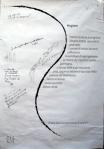 poesia da Carnem Levare, il cammino - carta 100x70