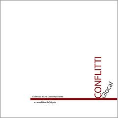 conflitti-catalogo-mostra, progetto grafico Roberto Falco