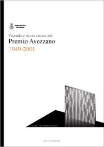 Vicende e storia critica del Premio Avezzano, progetto grafico Roberto Falco