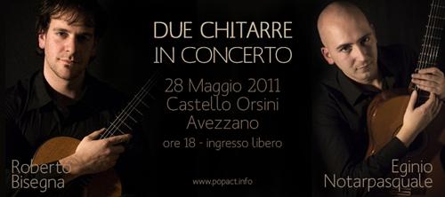Roberto Bisenga - Eginio Notarpasquale in concerto