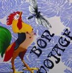 2008 - Le Poulette de baron samedi. olio su tela -50x50
