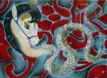 2008 - thelema. olio su tela-40x30
