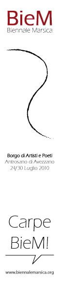 BieM - Biennale Marsica (poesia, arte, cinema) - http://www.biennalemarsica.org