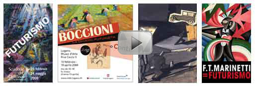 video, Manifesti futurismo - Created by Roberto Falco