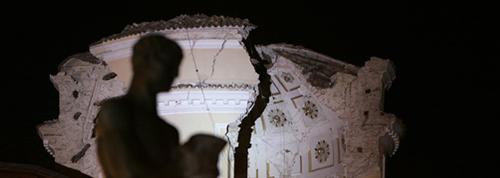 cattedrale di Santa Maria del Suffragio - terremoto L'Aquila