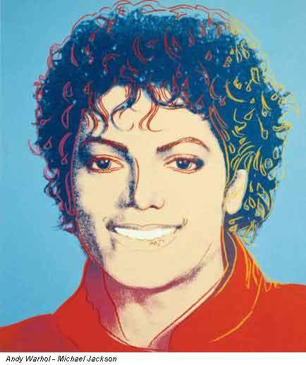 Andy Warhol_Michael Jackson. Img by, Roberto Falco