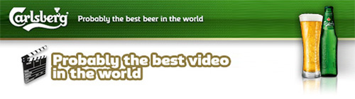 mtv/carlsberg the best video