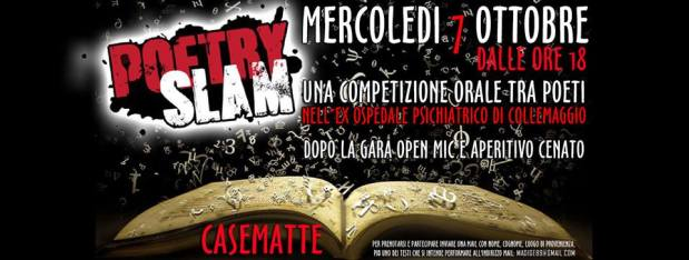 L'Aquila: POETRY SLAM @CASEMATTE