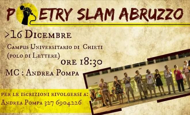 Poetry slam abruzzo