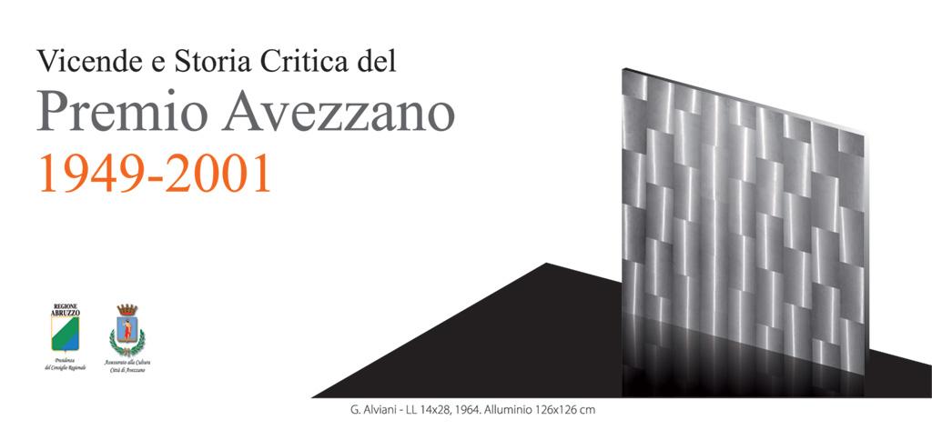 Vicende e storia critica del Premio Avezzano 1949 – 2001