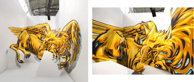 anamorphic illusion-art